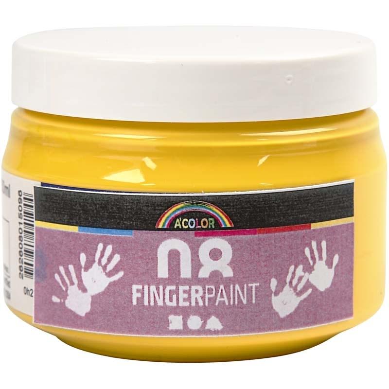 Finger Paint,150 ml,galben