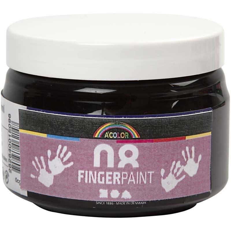 Finger Paint,150 ml,negru