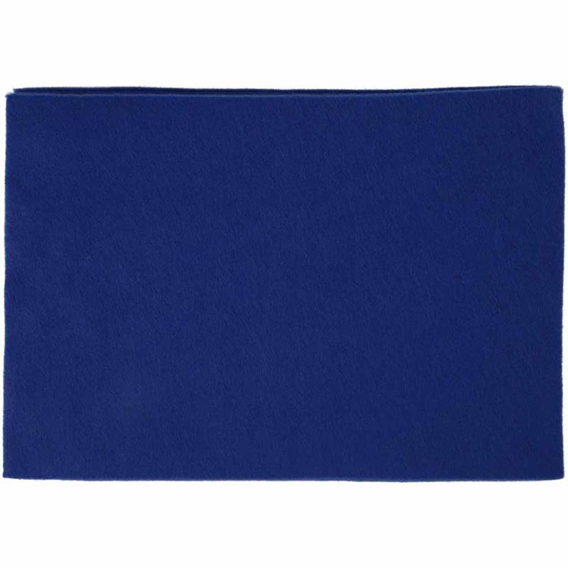 Fetru A4,21x30x0.2cm,albastru,10buc/set