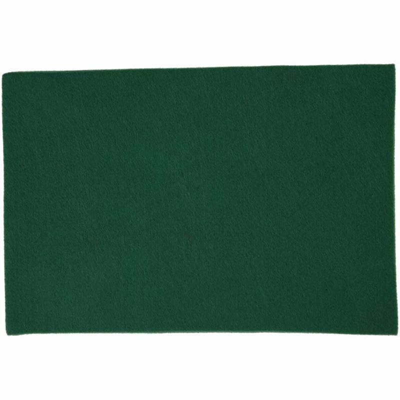 Fetru A4,21x30x0.2cm,verde,10buc/set
