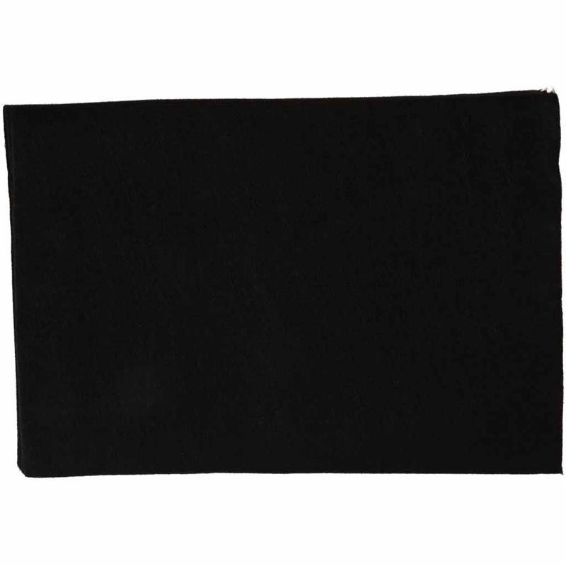 Fetru A4,21x30x0.2cm,negru,10buc/set