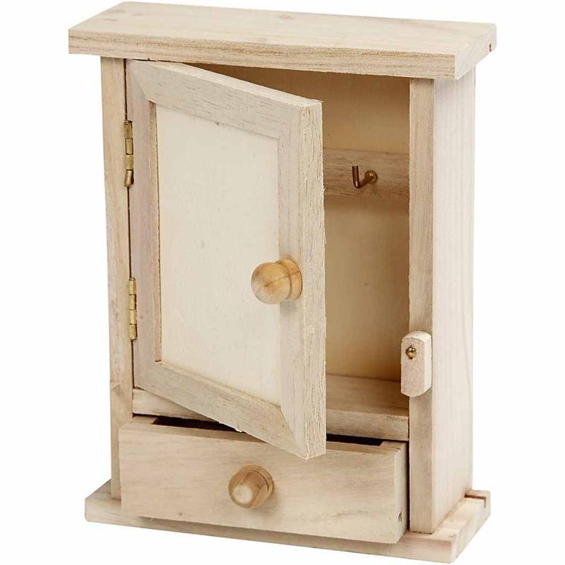 Cabinet pentru chei,lemn,11,5x4,5x15cm