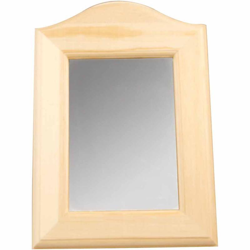 Oglinda,lemn,19x27x1,5cm