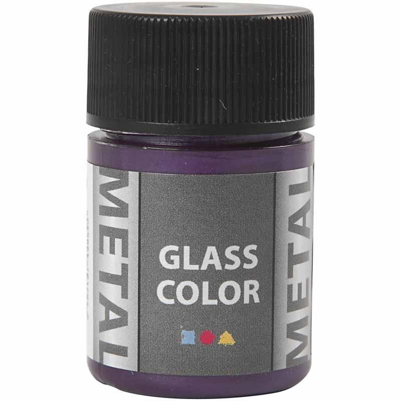 Vopsea cu efect metalic,35ml,violet