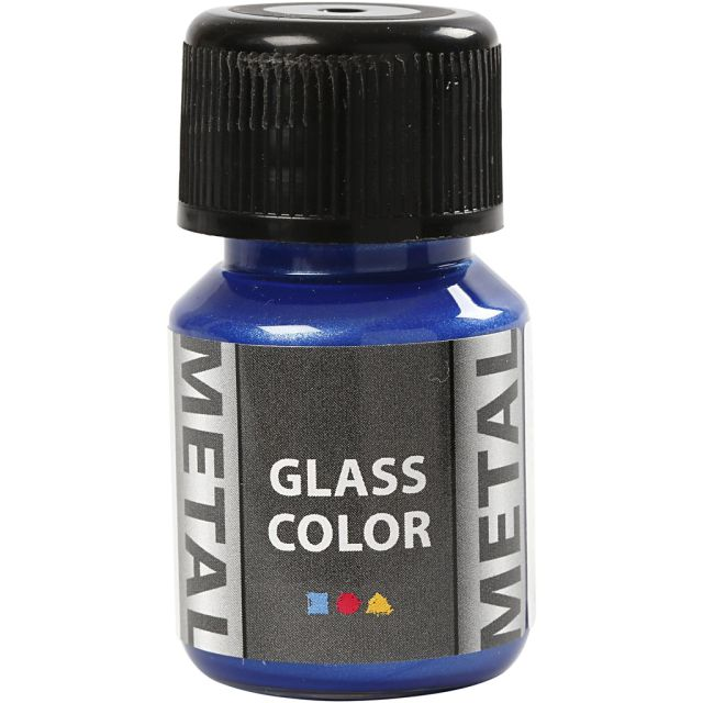 Vopsea cu efect metalic,35ml,blue