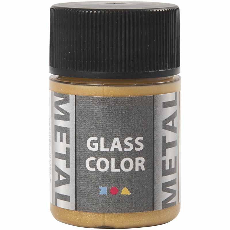 Vopsea cu efect metalic,35ml,auriu