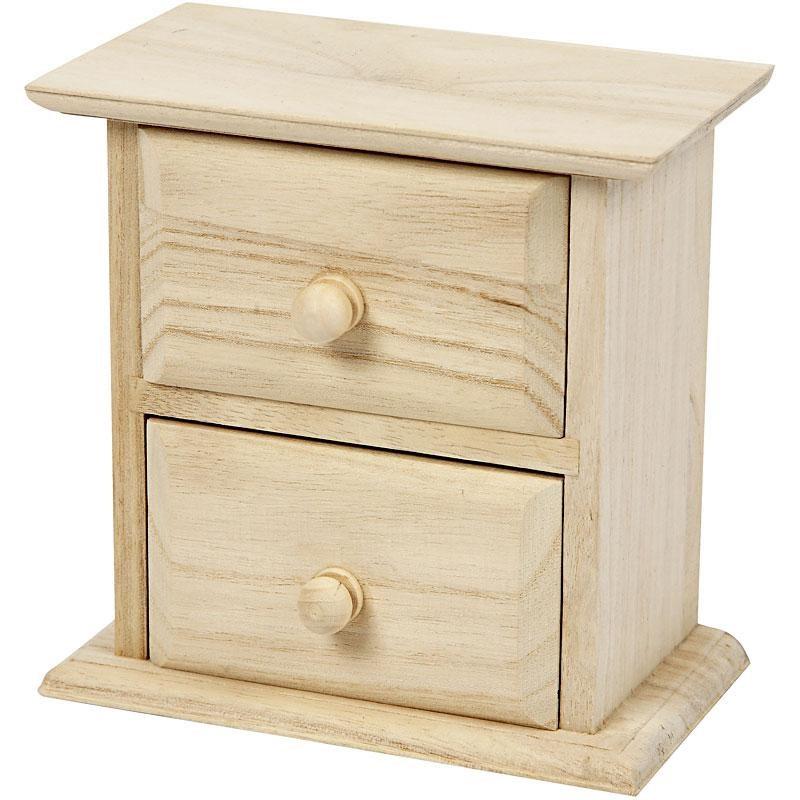 Comoda,lemn,13x7,5x13cm