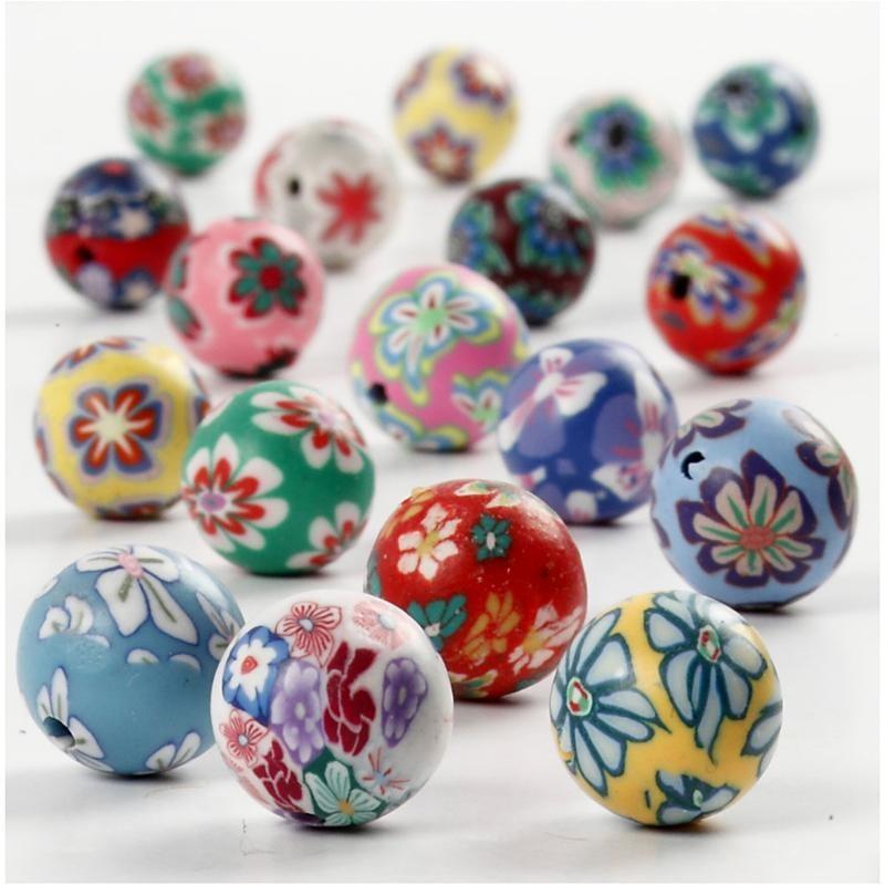 Margele ceramica,10mm,rotunde,40 b/s