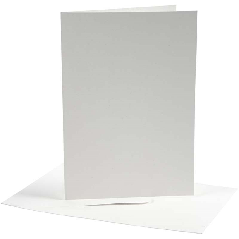 Felicitare,plic,10.5x15cm,alb,10b,23708