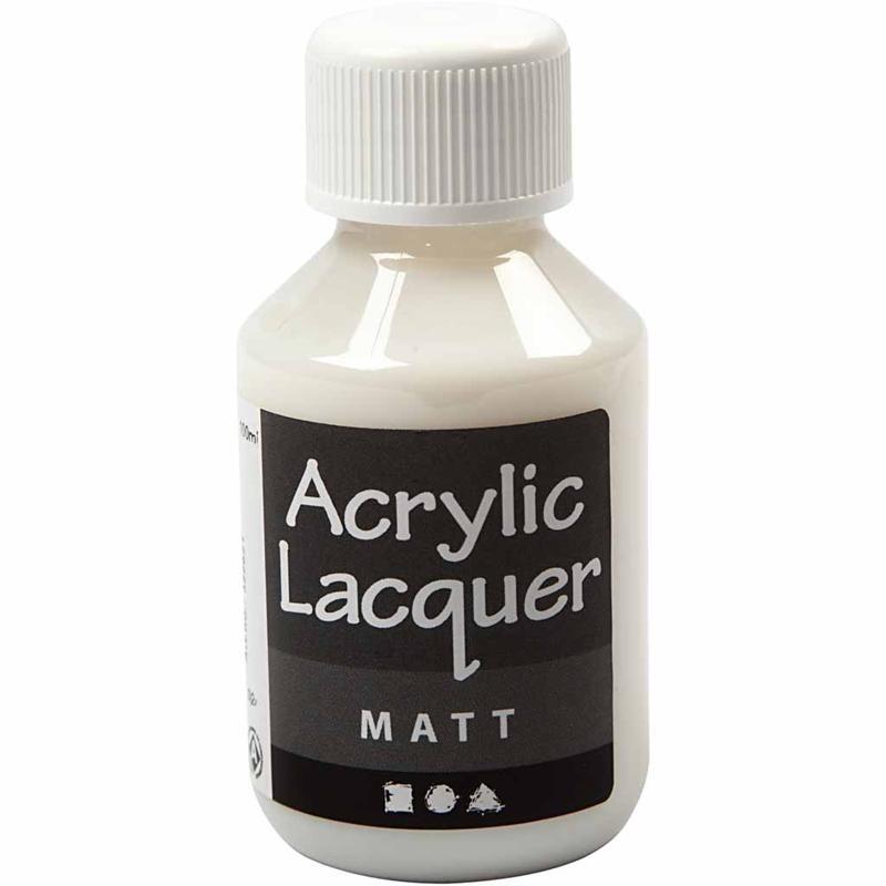 Lac mat acrilic,100ml