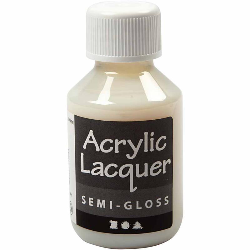 Lac semi lucios acrilic,100ml