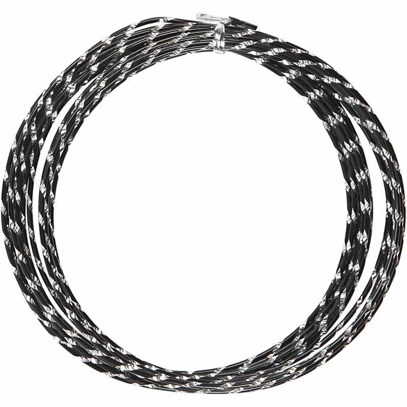 Sarma aluminiu,2mmx7m,negru