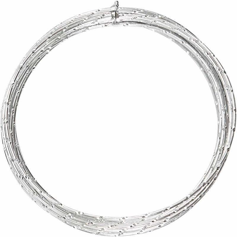 Sarma aluminiu,2mmx7m,argintiu