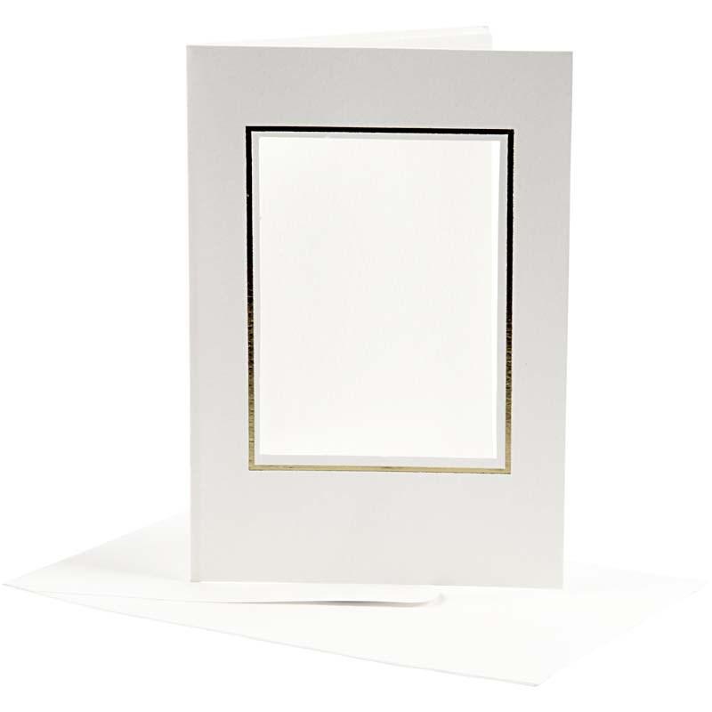 Felicitare,plic,10.5x15cm,alb,10b,23726