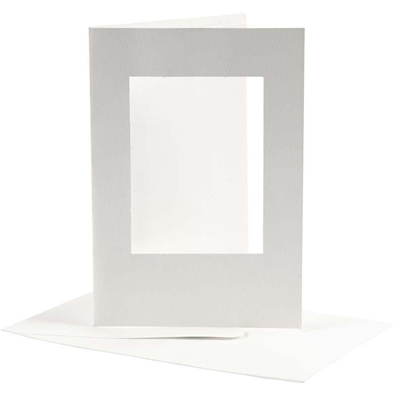 Felicitare,plic,10.5x15cm,alb,10b,23720
