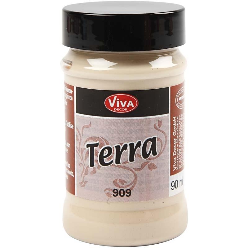Vopsea acrilica efect teracota,90ml,sahara