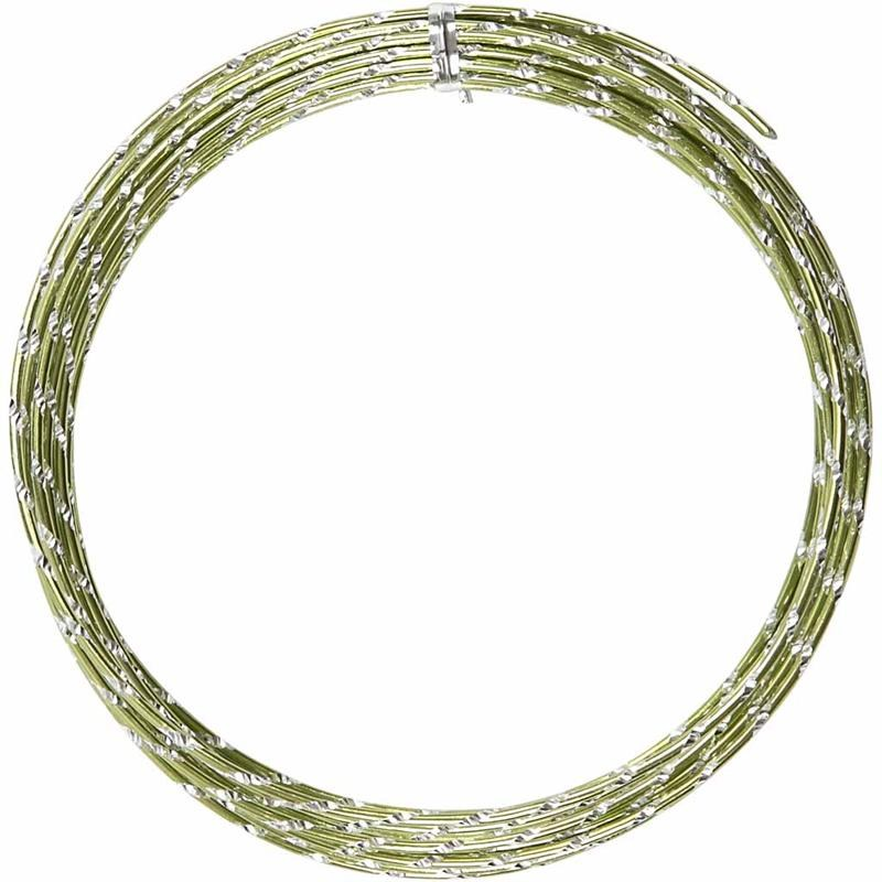 Sarma aluminiu,2mmx7m,verde