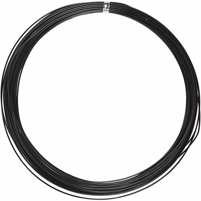 Sarma aluminiu,1mmx16m,negru