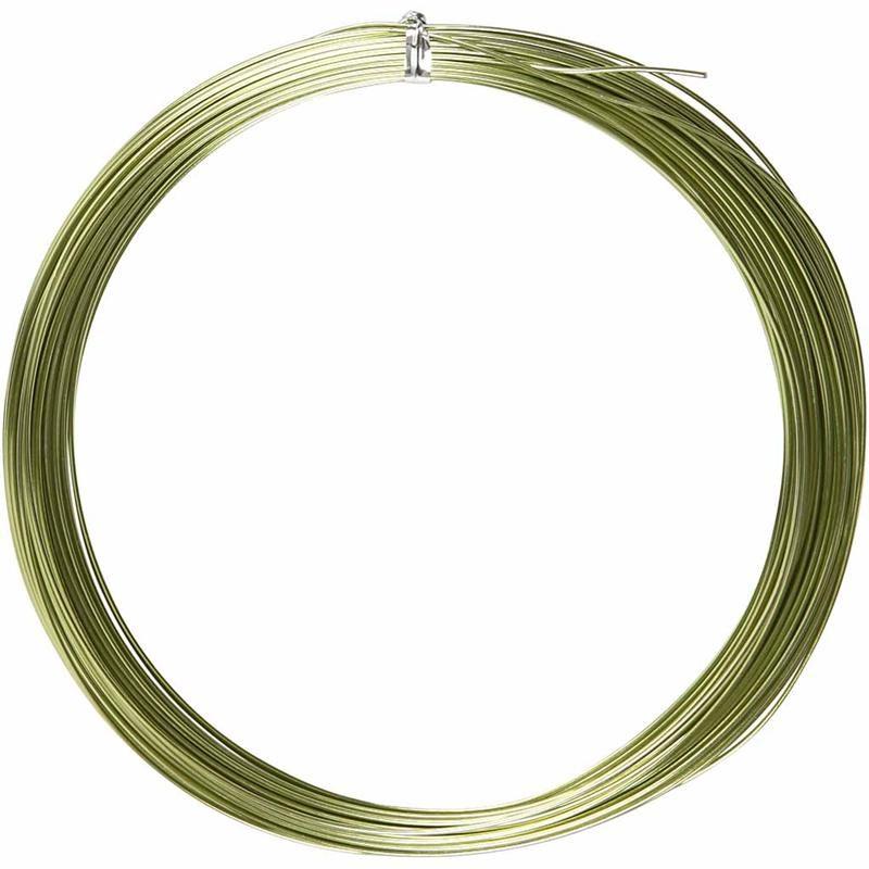 Sarma aluminiu,1mmx16m,verde