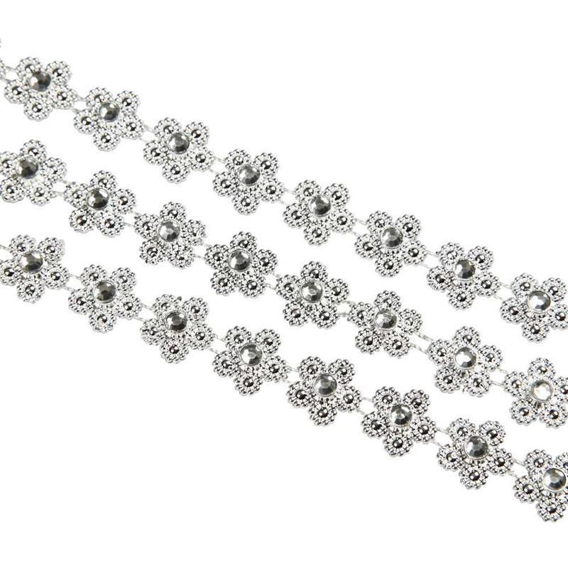 Snur plastic,10mm,5m,flori