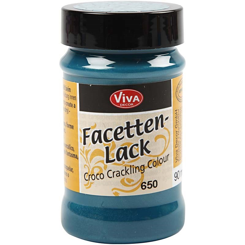 Lac efect crapare,90ml,turquoise