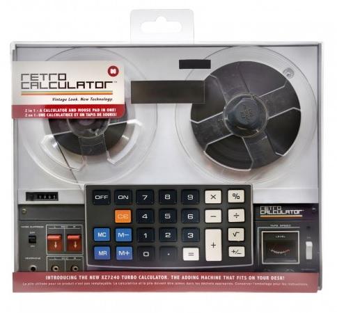 Calculator birou si mouse pad,model retro