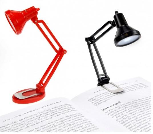 Lampa pentru citit Tiny Tim,negru