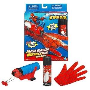 Lansator de panze de paianjen, Spiderman