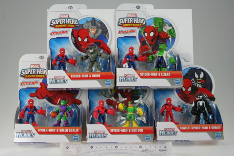 Set 2 figurine Spider-Man