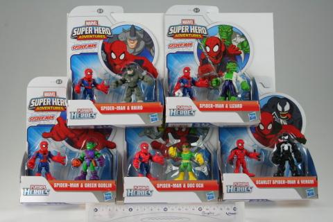Set 2 figurine Spider-Man