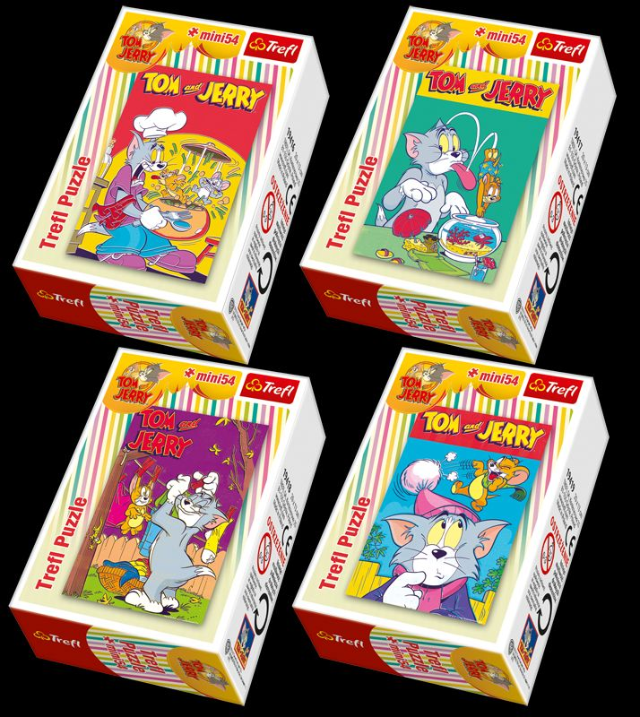 Puzzle tom si jerry mini 54