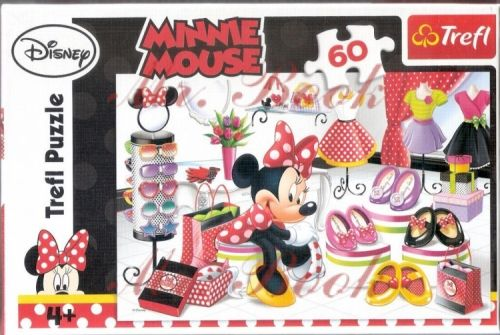 Puzzle minnie mouse,60 piese