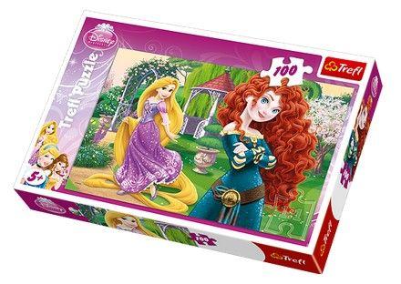 Puzzle printese rapunzel si neinfricata,100 piese