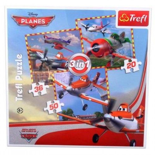Puzzle 3 in 1 planes