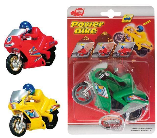 Motocicleta power bike cu frictiune