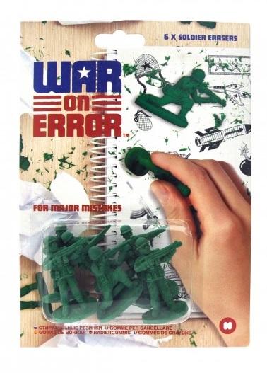 Set radiere War on Error,6 buc/set