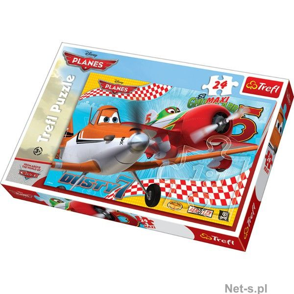 Puzzle planes maxi,24 piese