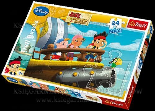 Puzzle jack in never land maxi,24 piese