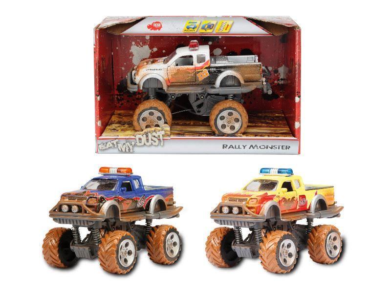 Masina cu suspensii rally monster