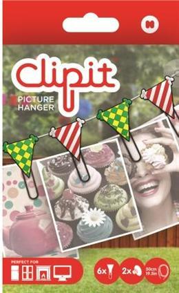 Set Clipit,6 agrafe+elastic,steaguri