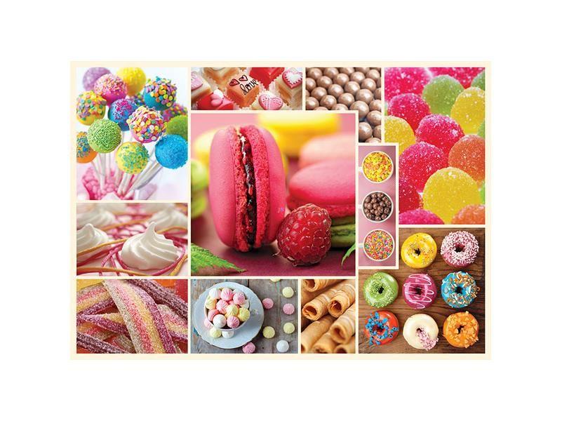Puzzle cuisine décor candy,1000 piese