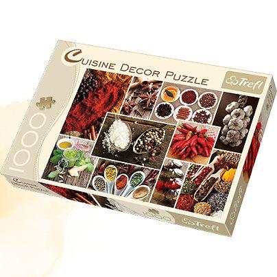 Puzzle cuisine décor spices,1000 piese