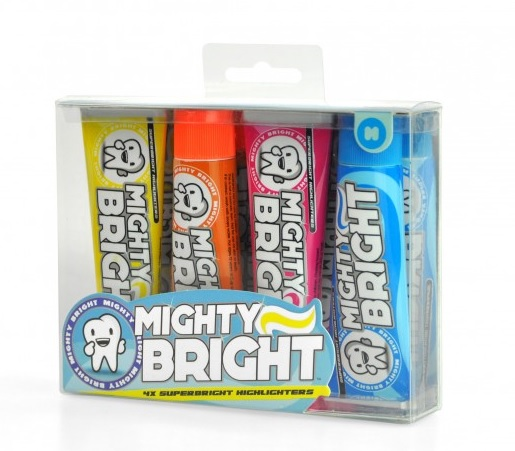 Textmarker Mighty Bright,pasta de dinti