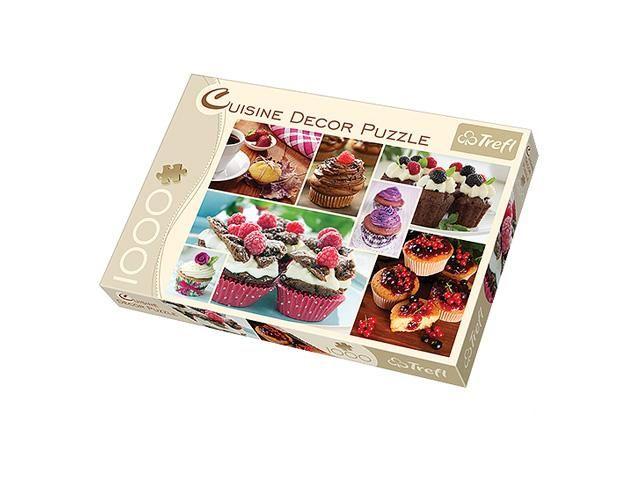 Puzzle cuisine décor muffins,1000 piese