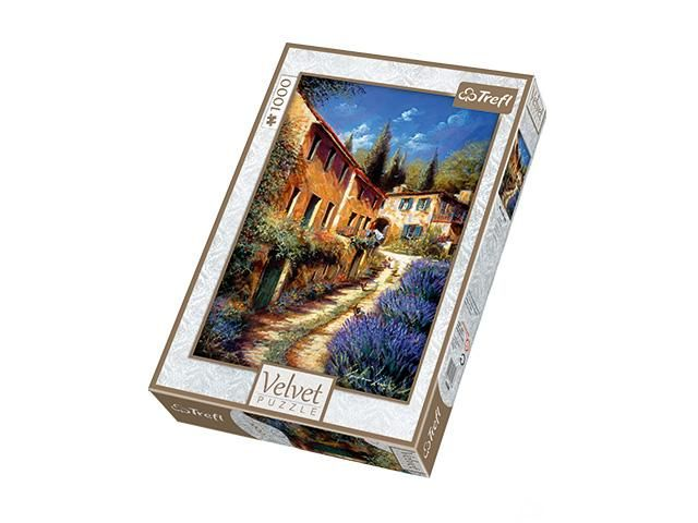 Puzzle  velvet up the lane, 1000 piese