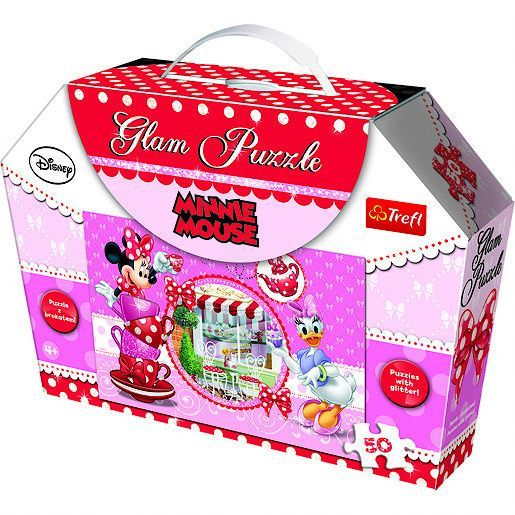 Puzzle minnie mouse -glam,50 piese