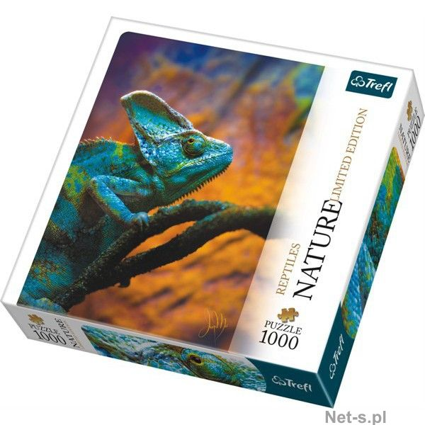 Puzzle chameleon nature limited edition,1000 piese