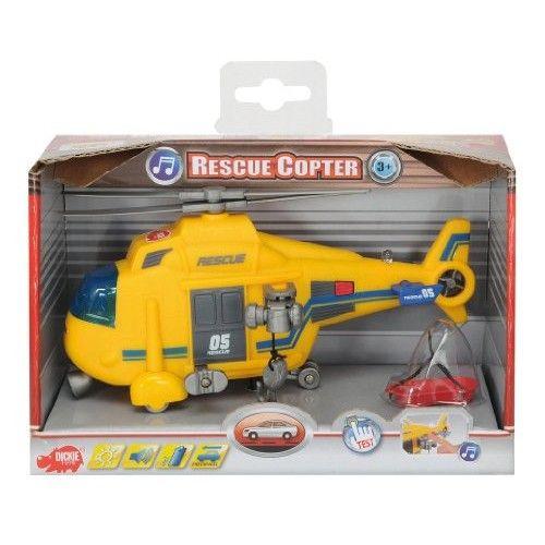 Elicopter Rescue cu sunet si lumini,18 cm