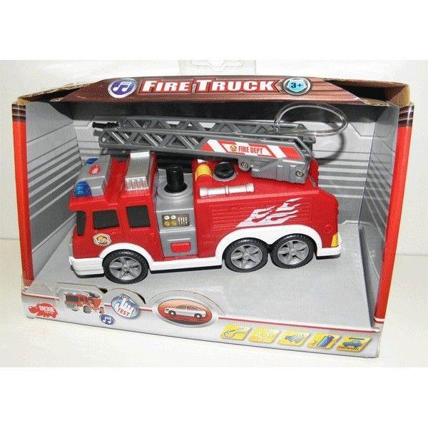 Masina pompieri, cu sunet si pompa cu apa