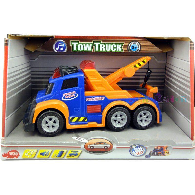 Camion action cu sunet si lumini, 15cm